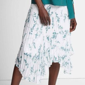 Club Monaco Emilie Paola Pleated Midi Asymmetrical